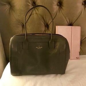 Kate Spade charcoal grey shoulder bag